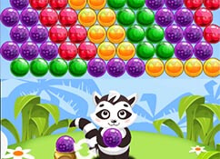Bubble Shooter Racoon